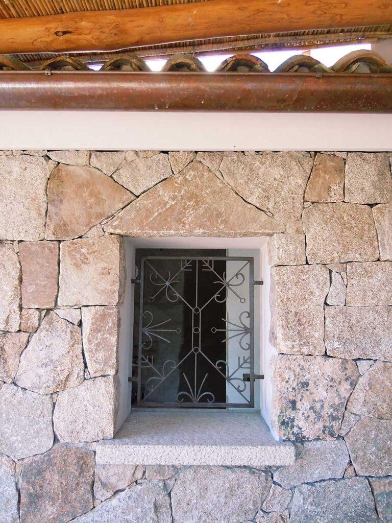 Muratura in pietra Porto Cervo Costa Smeralda