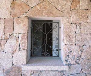 Murature in pietra Porto Cervo Costa Smeralda